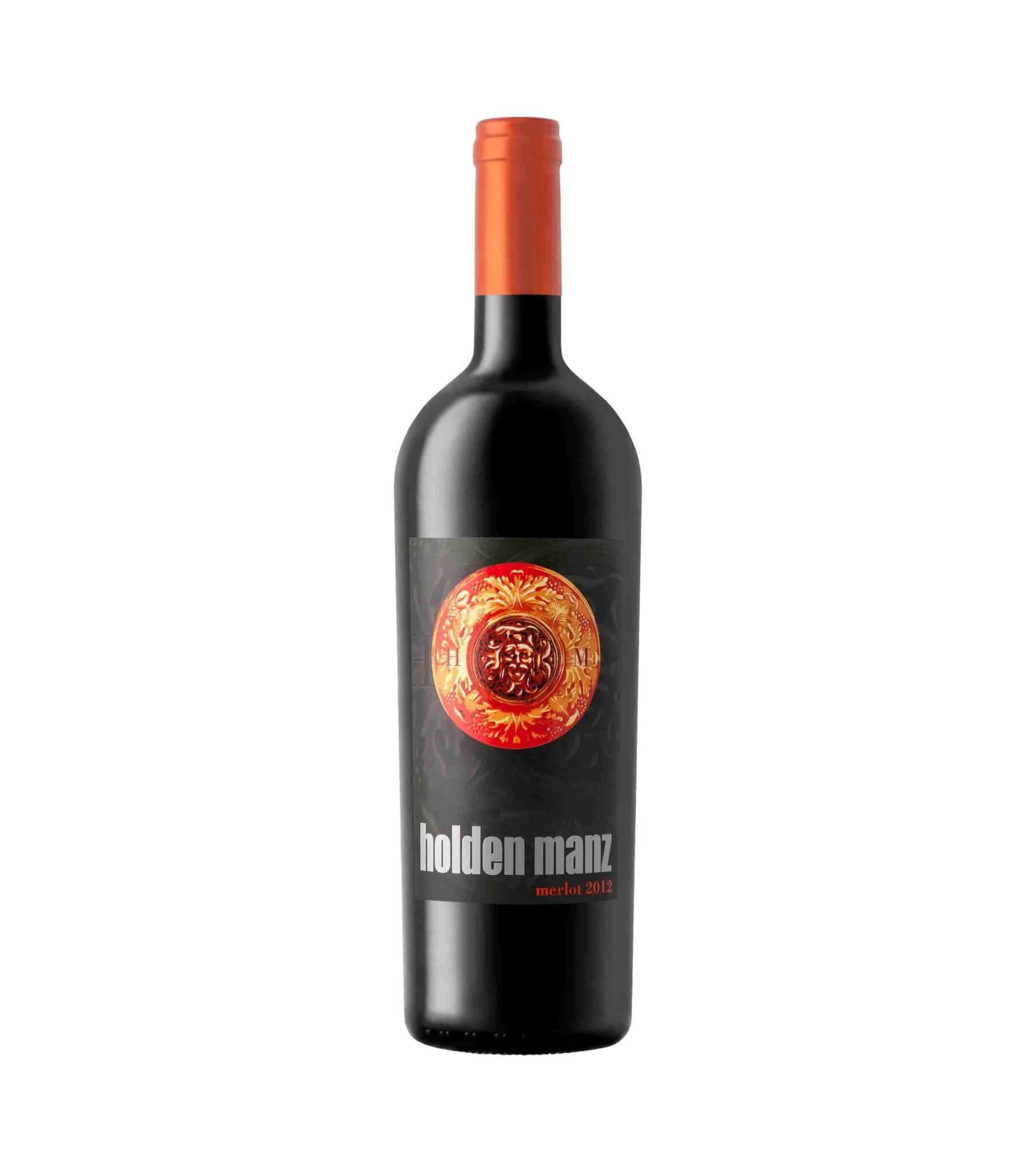 HOLDEN MANZ MERLOT red vegan wine