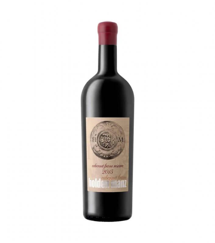 holden manz reserve Cabernet Franc red vegan wine