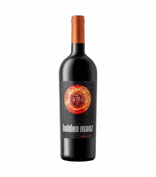 HOLDEN MANZ SHIRAZ red vegan wine