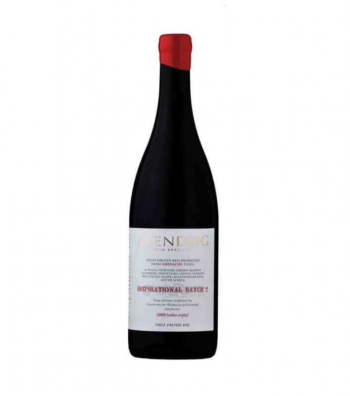 2016 Arendsig Grenache red vegan wine