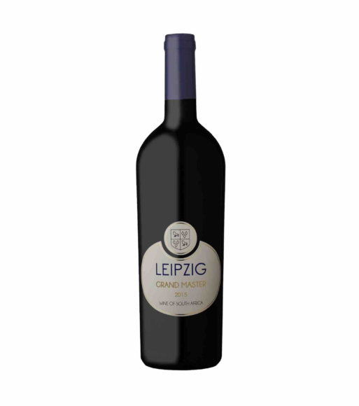 Leipzig Grand Master red vegan wine blend 2015 of Cabernet Sauvignon, Merlot and Malbec