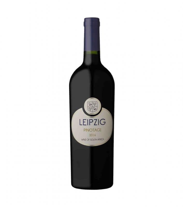 Leipzig Pinotage red vegan wine 2014