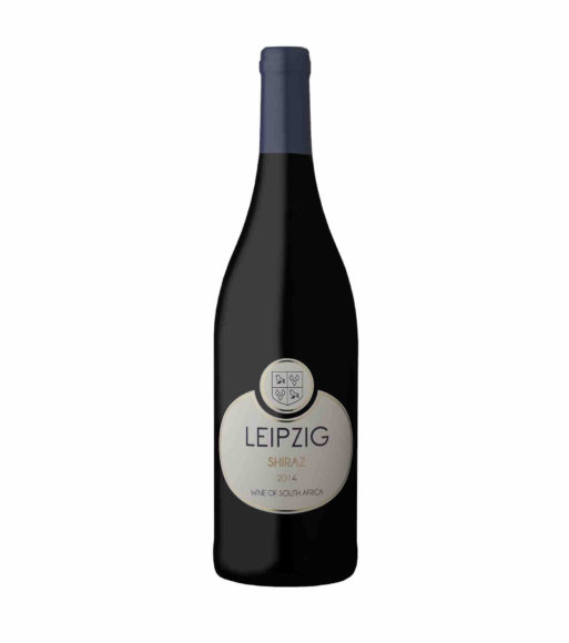 Leipzig Shiraz red vegan wine 2014