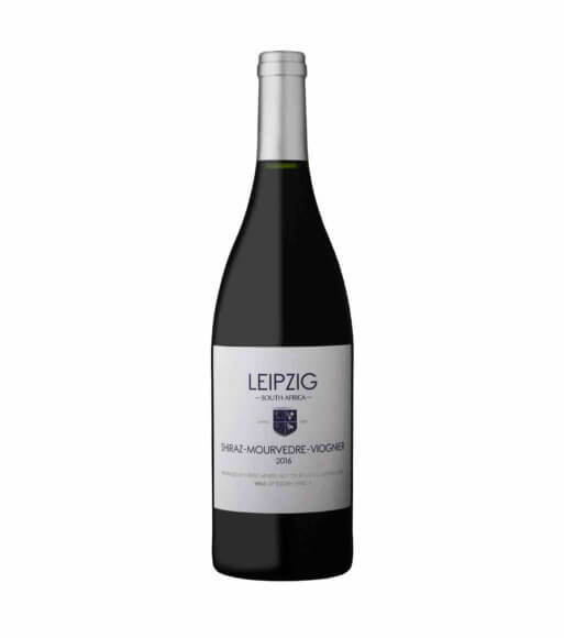 Leipzig Shiraz Mourvedre Viogner red vegan wine 2016