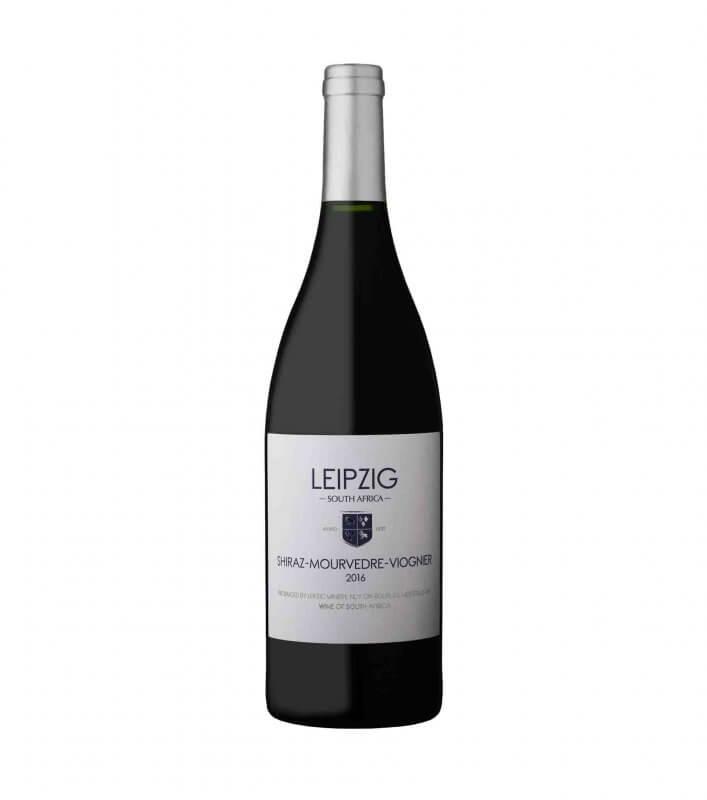 Leipzig Shiraz Mourvedre Viogner red vegan wine 2016